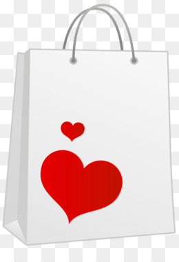 Shopping Bags Trolleys, Bag, Computer Icons, Heart, Product PNG image with transparent background