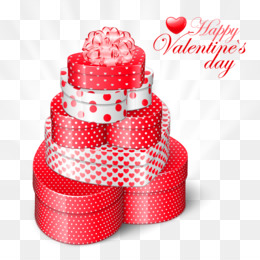 Valentine S Day, Gift, Heart, Polka Dot, Design PNG image with transparent background