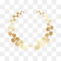Laurel Wreath Gold Bay Laurel Clip Art Gold Leaf Png