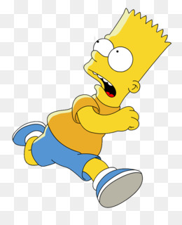 Bart Simpson PNG And PSD Free Download