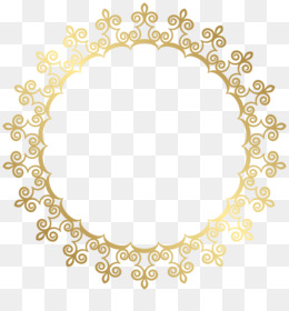 Picture Frames, Gold, Encapsulated Postscript, Square, Symmetry PNG image with transparent background