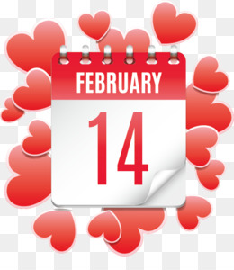 Valentine S Day, February 14, Gift, Heart, Love PNG image with transparent background