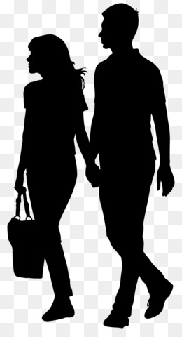 Silhouette, Drawing, Royalty Free, Standing, Human Behavior PNG image with transparent background