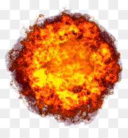 Explosion, Nuclear Explosion, Computer Icons, Orange, Circle PNG image with transparent background