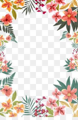 Paper, Flower, Border Flowers, Plant, Flora PNG image with transparent background