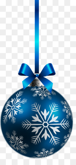 Christmas, Christmas Decoration, Christmas Ornament, Blue, Sphere PNG image with transparent background