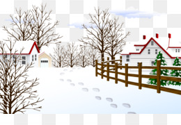 Winter, Fukei, Snow, House PNG image with transparent background