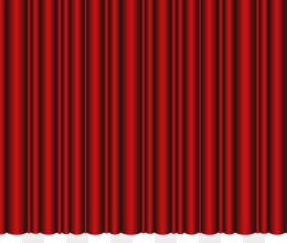 Theater Curtain PNG Transparent Clipart Free