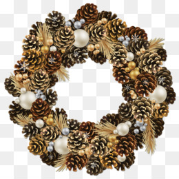 Wreath, Christmas, Garland, Jewellery PNG image with transparent background