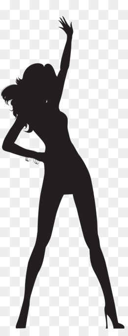 Dance, Silhouette, Drawing, Standing, Human Behavior PNG image with transparent background