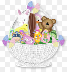 Gift basket png and psd free download easter bunny gift basket about 2778 png images for gift basket negle Images