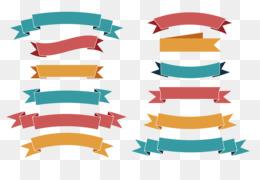 Ribbon, Banner, Logo, Pattern, Illustration PNG image with transparent background