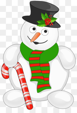 Candy Cane, Snowman, Christmas, Christmas Ornament PNG image with transparent background