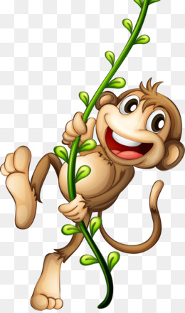 Cartoon, Drawing, Monkey, Art, Thumb PNG image with transparent background