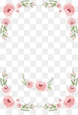 Flower, Marriage, Rose, Pink, Picture Frame PNG image with transparent background