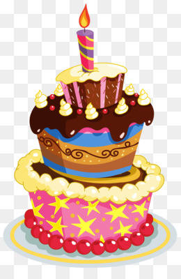 Free Download Birthday Cake Clip Art Colorful Birthday Cake Png