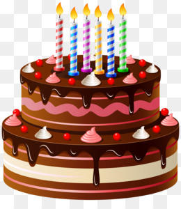 Birthday Cake Nephew And Niece Cuisine PNG Image With Transparent Background