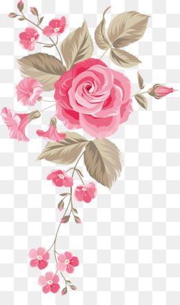 Wedding Invitation, Flower, Paint, Heart, Garden Roses PNG image with transparent background