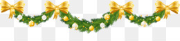 Christmas, Christmas Decoration, Garland, Flower, Symmetry PNG image with transparent background