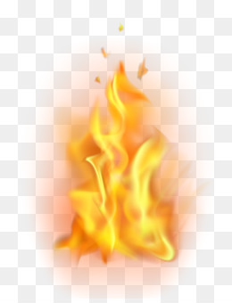 Flame, Fire, Light, Peach PNG image with transparent background