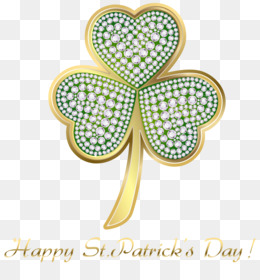 Shamrock, Saint Patrick S Day, Four Leaf Clover, Product PNG image with transparent background