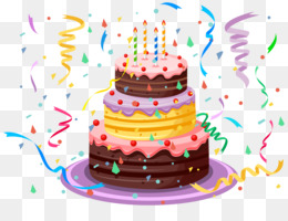 Birthday Cake, Cake, Birthday, Cuisine PNG image with transparent background