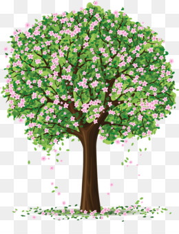 Tree, Spring, Branch, Plant, Flower PNG image with transparent background