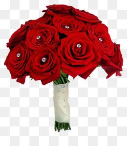 Flower Bouquet, Rose, Wedding, Petal, Plant PNG image with transparent background