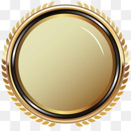 Cartoon Gold Medal