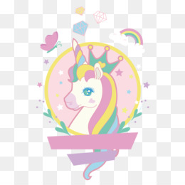 Unicorn, Drawing, Painting, Pink, Art PNG image with transparent background