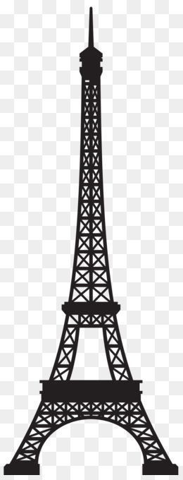 Eiffel Tower Euclidean vector - Valentine's Day vector