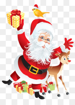Rudolph, Santa Claus, Paper, Christmas Decoration, Art PNG image with transparent background