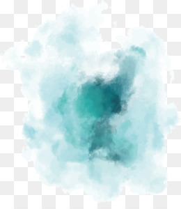 Watercolor Painting, Paintbrush, Rgb Color Model, Blue, Turquoise PNG image with transparent background