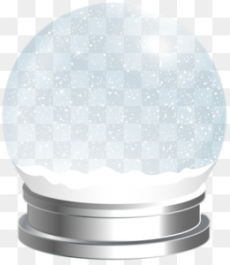 Snow Globes, Christmas, Royalty Free, White, Product Design PNG image with transparent background