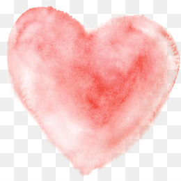 Heart, Watercolor Painting, Download PNG image with transparent background