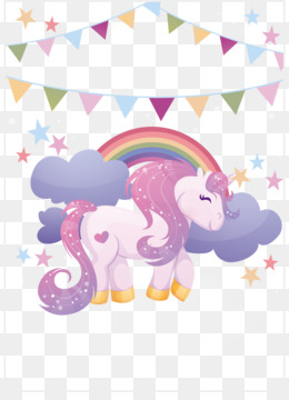 Unicorn, Paper, Legendary Creature, Pink, Product PNG image with transparent background
