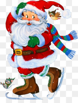 Santa Claus, Rudolph, Christmas, Christmas Ornament, Art PNG image with transparent background
