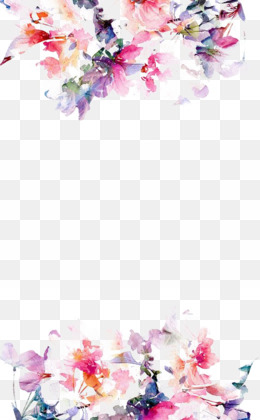 Watercolour Flowers, Watercolor Painting, Drawing, Pink, Flower PNG image with transparent background