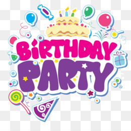 Birthday, Party, Child, Pink, Product PNG image with transparent background