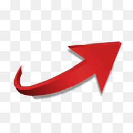 Arrow, Red, Download, Angle, Symbol PNG image with transparent background