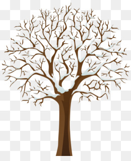 Tree, Winter, Branch, Plant, Flower PNG image with transparent background