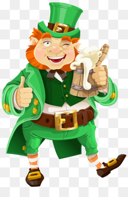 Beer, Leprechaun, Saint Patrick S Day, Art, Food PNG image with transparent background