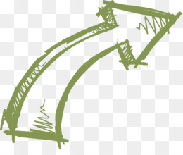 Green Arrow, Line, Drawing, Grass, Leaf PNG image with transparent background