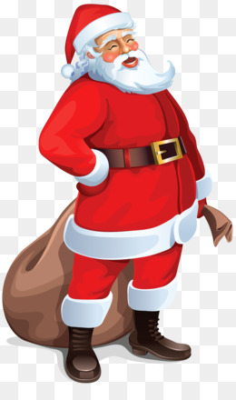Santa Claus, Computer Icons, Christmas, Standing, Art PNG image with transparent background