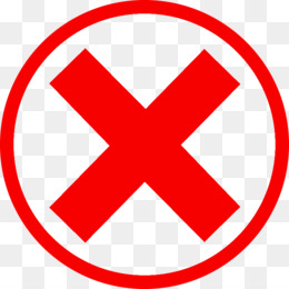 Red Cross Mark PNG &am...X And Check Icon