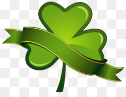 Ireland, Saint Patrick S Day, Shamrock, Heart, Leaf PNG image with transparent background