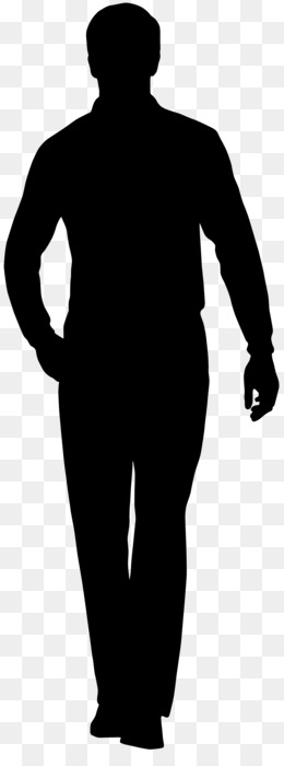 Silhouette, Male, Art, Standing, Shoulder PNG image with transparent background