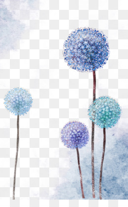 Common Dandelion, Purple, Oppo F3, Blue, Petal PNG image with transparent background