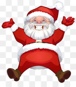 Rudolph, Santa Claus, Mrs Claus, Christmas Ornament, Art PNG image with transparent background