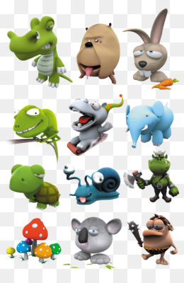 Cartoon, Animal, Shading, Toy, Stuffed Toy PNG image with transparent background